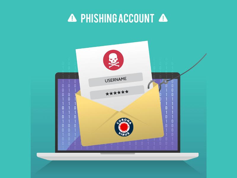 Attacchi Phishing e COVID-19